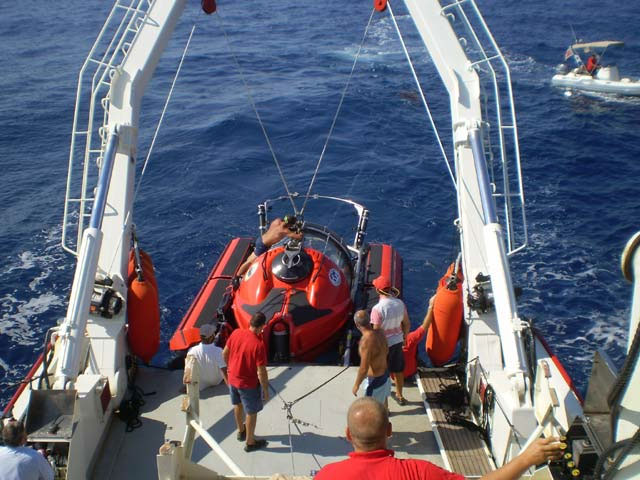 The recent Britannic expedition undertaken by the U Group Malta LMD lasted 10 days. Photo: Hellenic Ministry of Culture