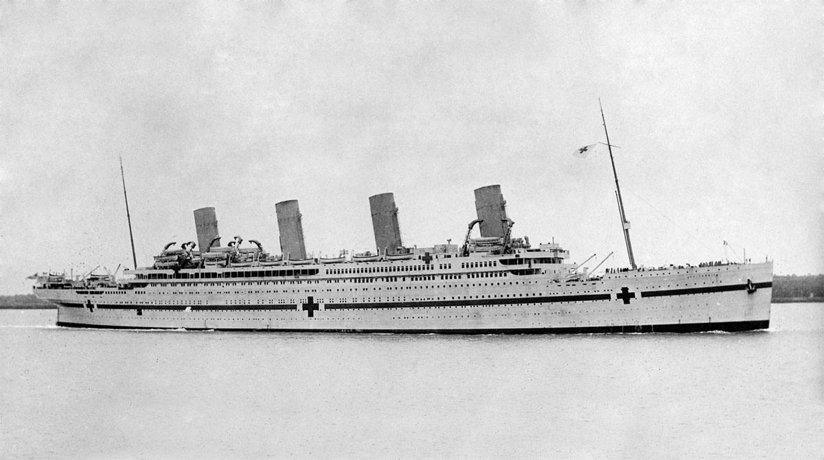 The HMHS Britannic.