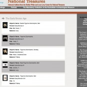 Thousands of archaeological artifacts available online by the Israel Antiquities Authority