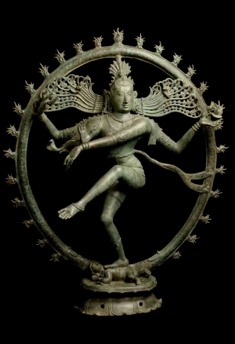 The figure of Shiva, as Lord of the Dance, is thought to have been looted from a temple in India.