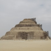 Saqqara Pyramid: destroyed by the company hired to fix it?
