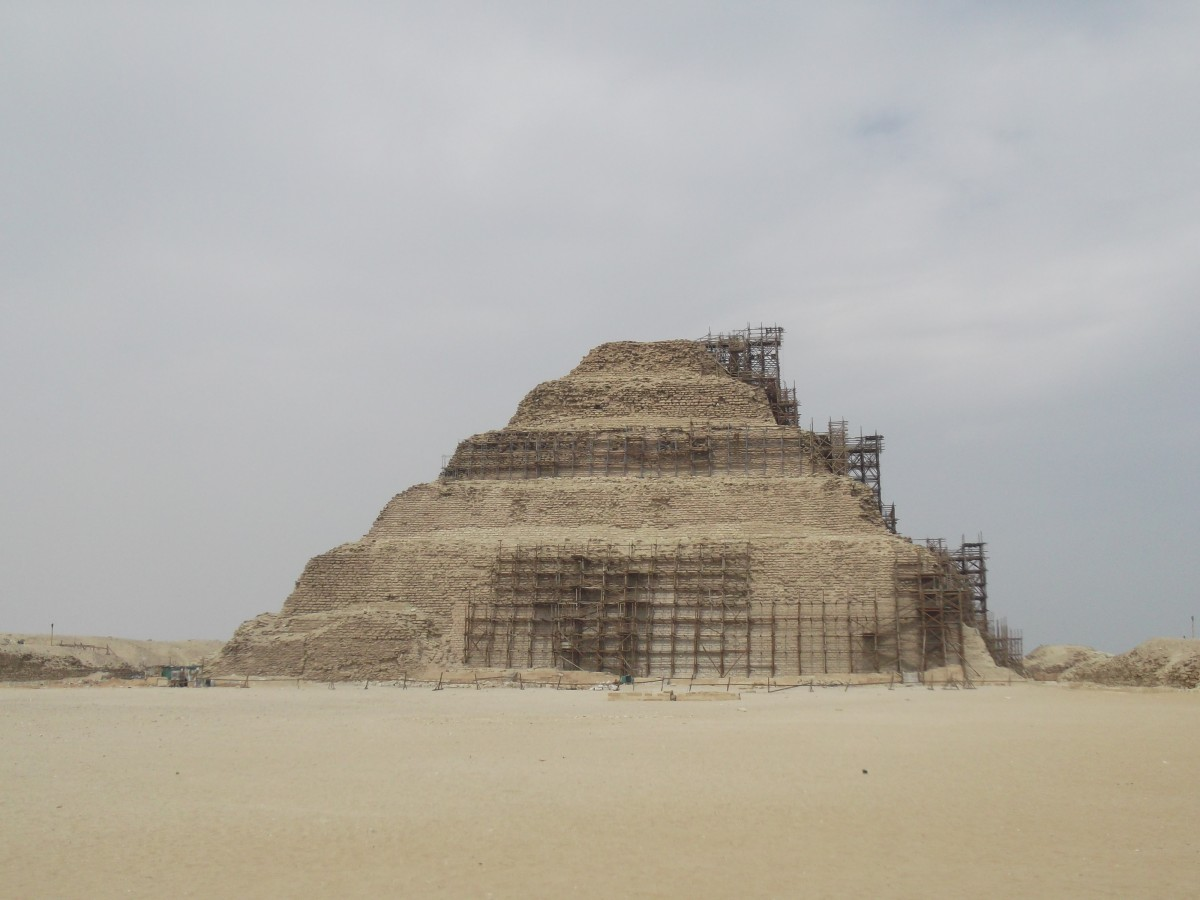 Saqqara is the oldest stone complex ever built by humans—and within it sits the oldest pyramid in Egypt.