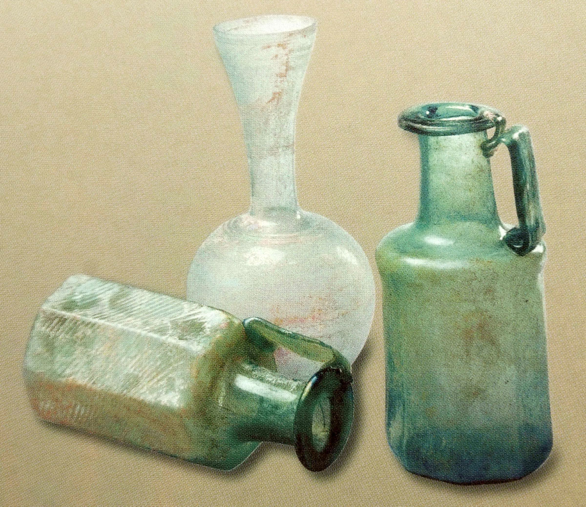 """Fig. 23. """"Glassware for serving liqueurs"""", Βυζαντινών Διατροφή και Μαγειρείαι (2005), p. 119."""
