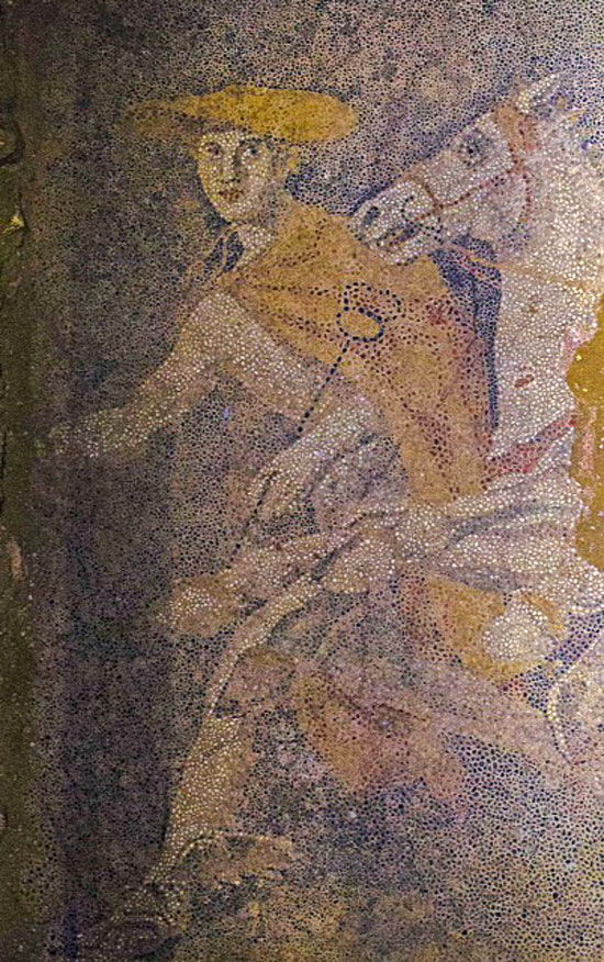 God Hermes Psychopompos leading the chariot (Photo credit: Ministry of Culture and Sports).