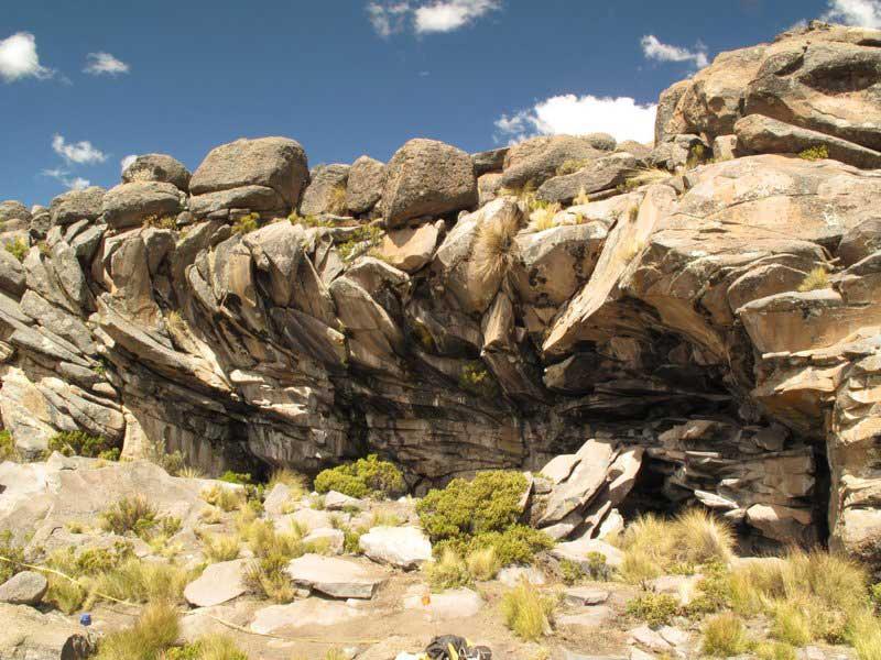 Cuncaicha Rock Shelter. Courtesy Kurt Rademaker