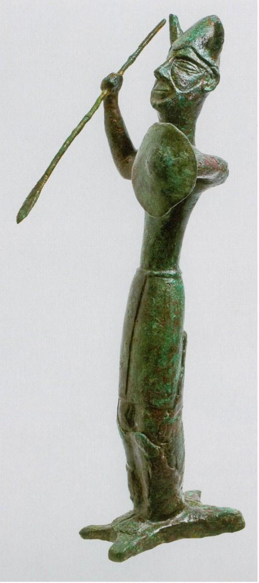 "The Ingot God, Enkomi ""Sanctuary of the Ingot God"" (Cyprus Museum)"