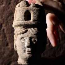 Small head of goddess Brigantia found by amateur archaeologist