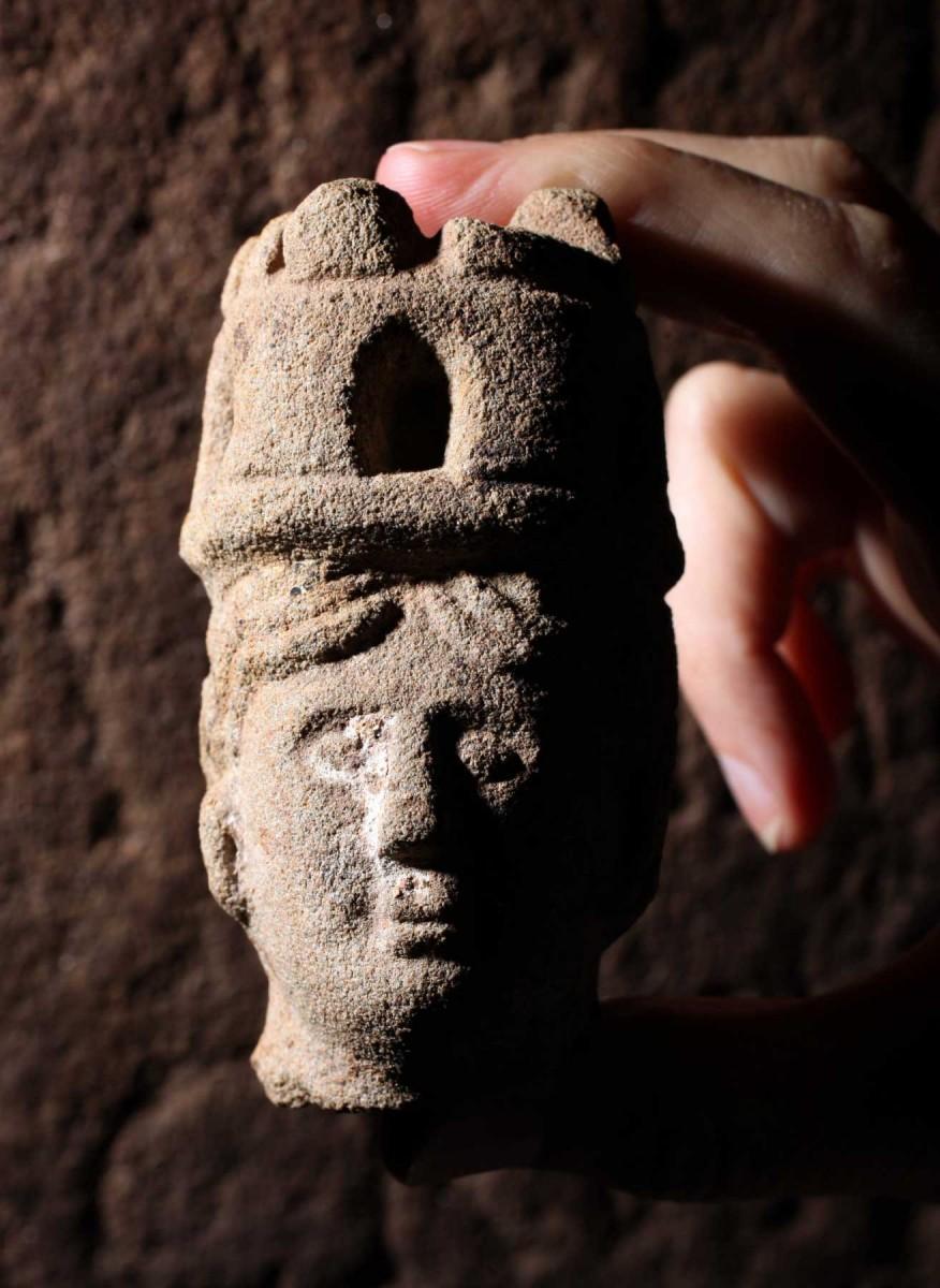 Head of Brigantia. Photo credit: WallQuest