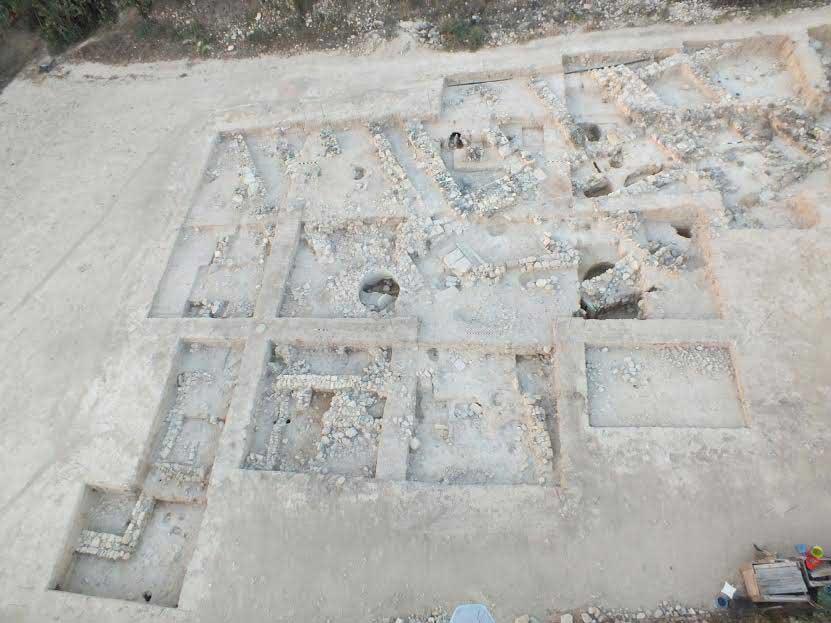 Idalion, Cyprus: excavation site.