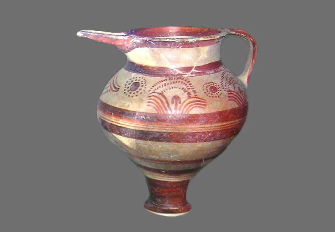 Find from the Mycenaean Chamber Tombs in Troezen.
