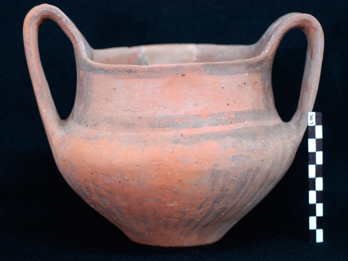 Fig. 6. Example of handmade pottery with matt-painted decoration. (Source: 12th E.P.C.A. archive)