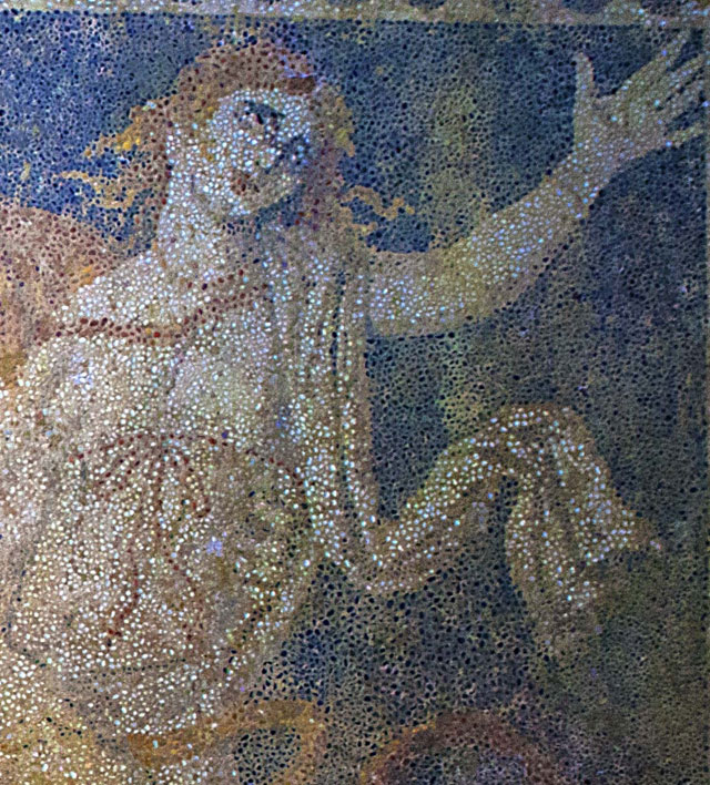 Persephone on the Amphipoli's mosaic.