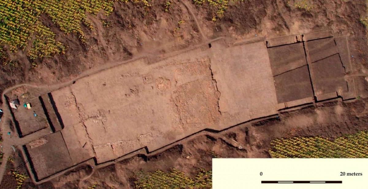 A 6,000-year-old temple found at the Trypillian mega-site of Nebelivka in Kirovograd region, Ukraine. Image credit: Nataliia Burdo / Mykhailo Videiko.