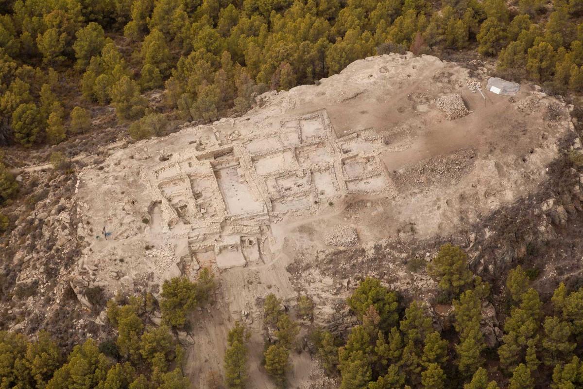 General view of the main buildings discovered in La Almoloya (Pliego, Murcia). Photo credit: Universitat Autònoma de Barcelona