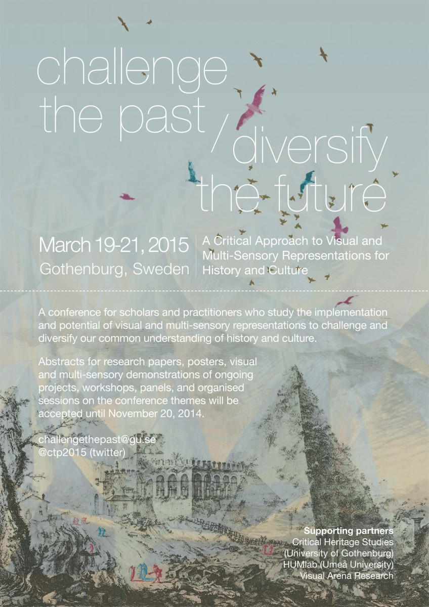 The goal of the conference is to connect a wide range of researchers and practitioners within heritage studies, digital humanities, history and adjoining disciplines.