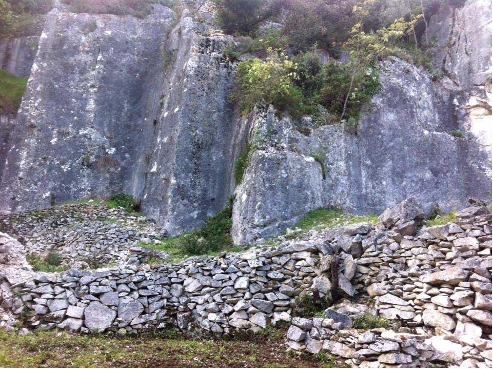 Roman limestone quarry Rasohe.