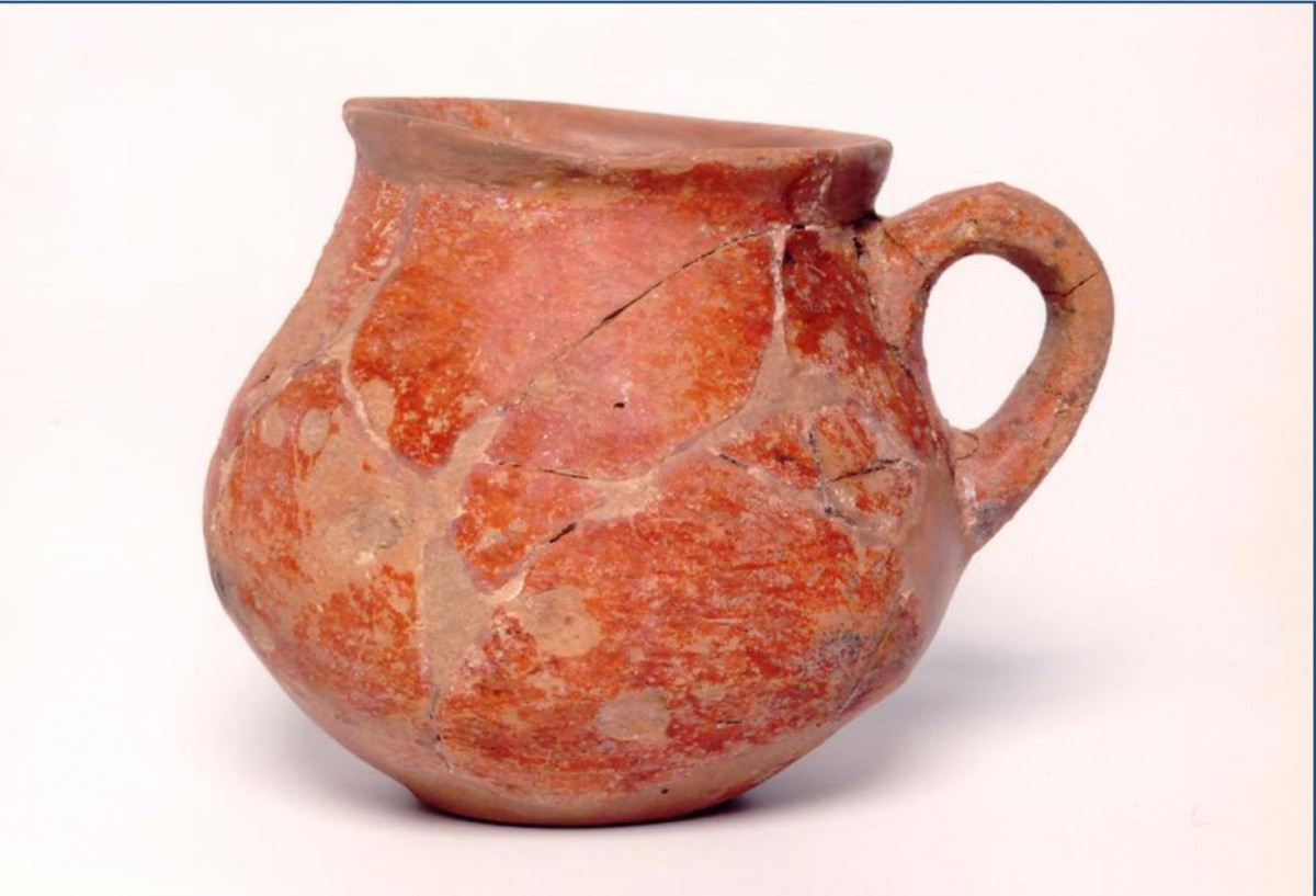 Tankard from the Cave of Zas.