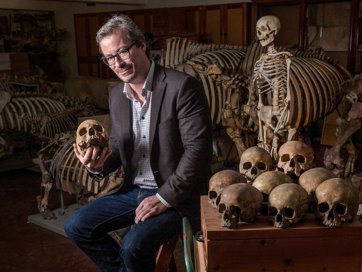 Professor Eske Willerslev found that a man from Kostenki in modern-day Russia had a lot in common with living Europeans. Photo credit: Peter the Great Museum of Anthropology and Ethnography