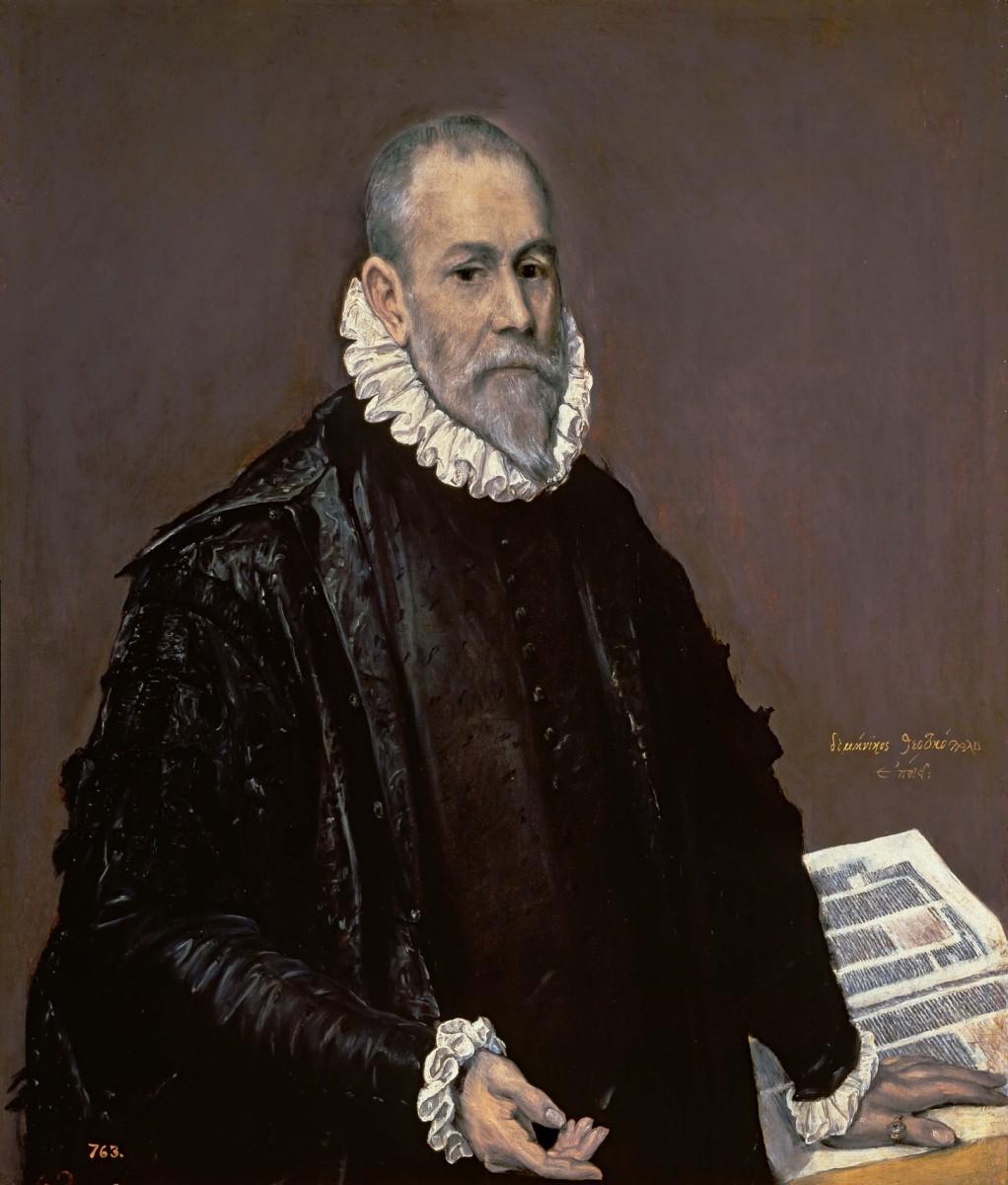 El Greco, Portrait of Doctor Rodrigo de la Fuente (El Médico) 1588-89. Museo del Prado, Madrid.