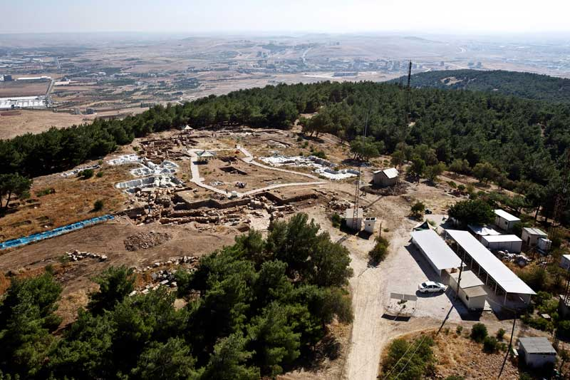 The sanctuary of Jupiter Dolichenus on Dülük Baba Tepesi in Southeast Turkey. Photo: Asia Minor Research Centre.