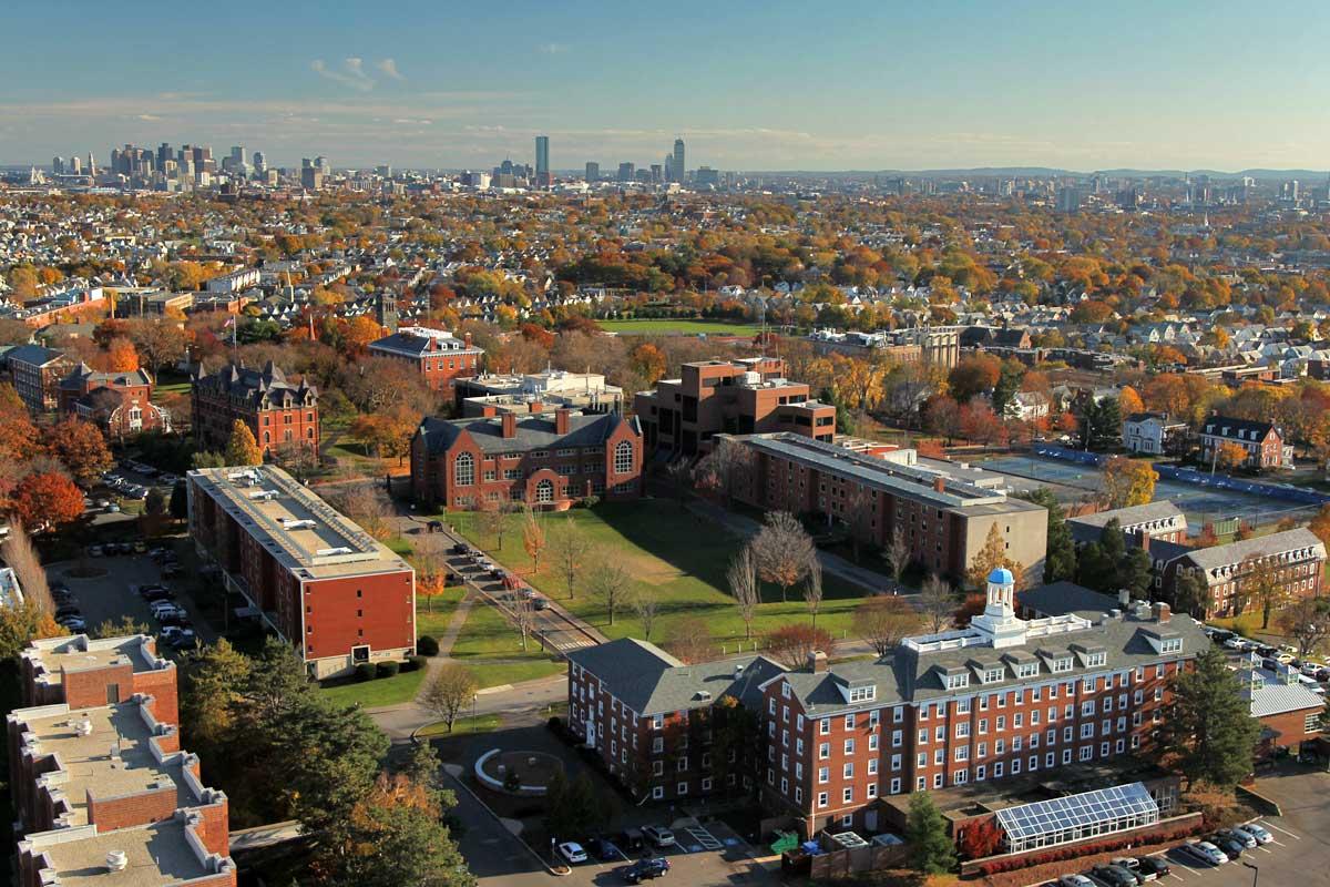 Tufts University.