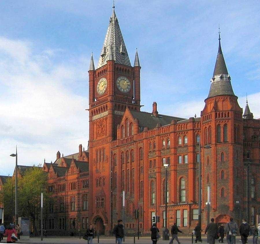 The University of Liverpool.