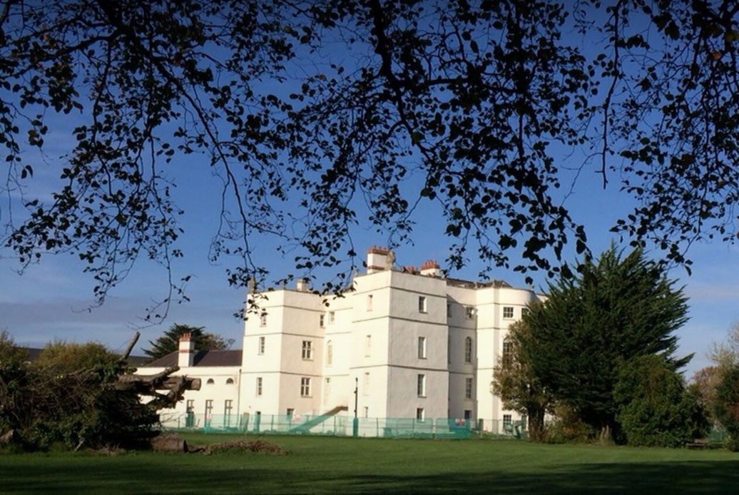 The Rathfarnham Castle.