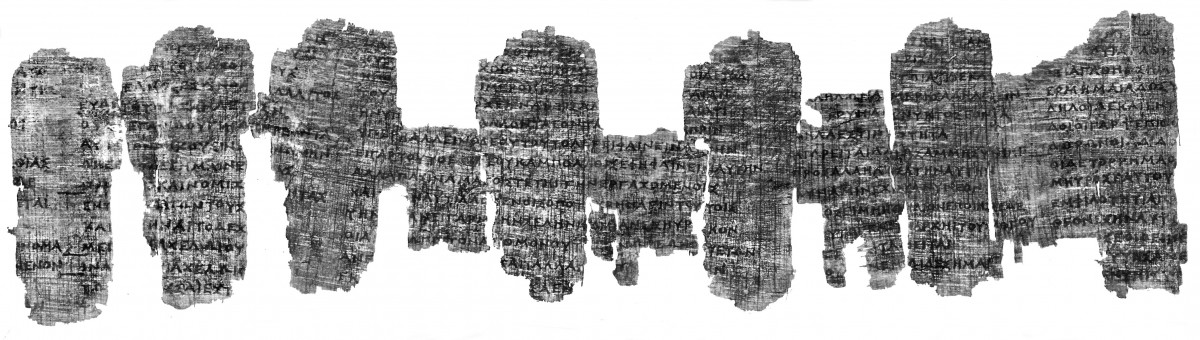 The Derveni Papyrus. © Orestis Kourakis.