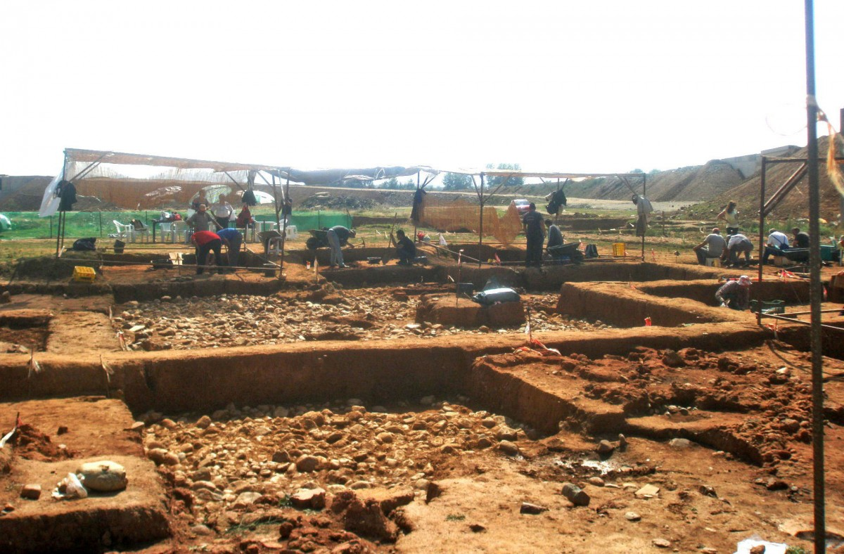 View of section 3 of the excavation, in Koromilia. (Photo: 29th Ephorate of Prehistoric and Classical Antiquities)