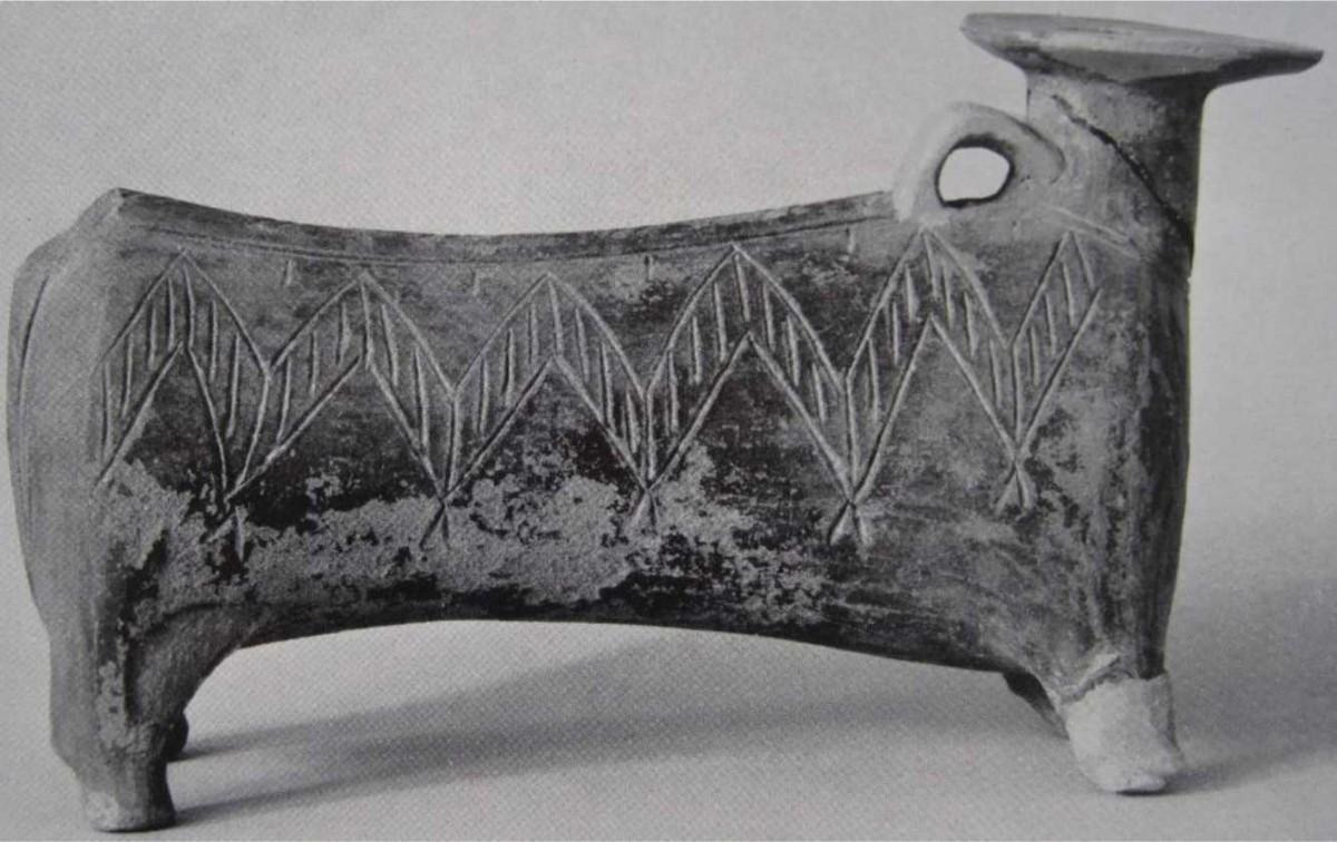 Fig. 1. Dark-faced rhyton.