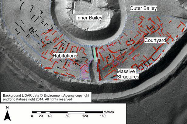The plan constructed by archaeologists using multiple methods. Photo credit: Environmental Agency/University of Southampton.