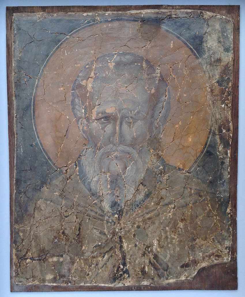 12th century restored unknown fresco from Cyprus. Photo: Walk of Truth
