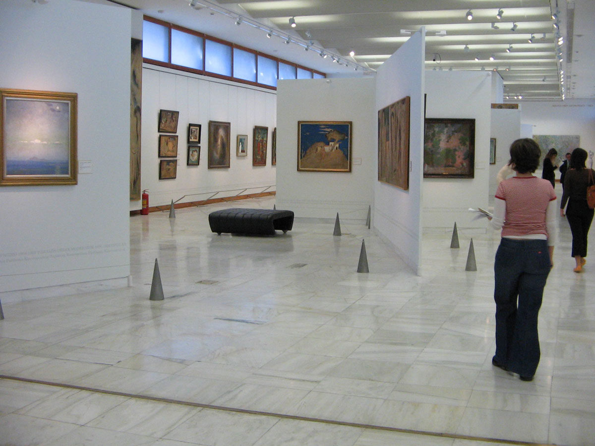 Fig. 10. The Greek National Gallery.