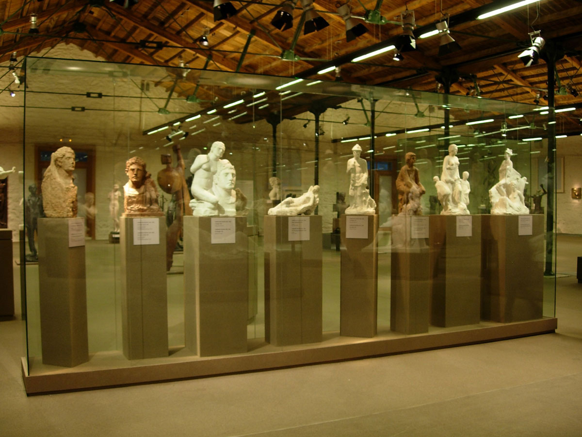 Fig. 13. The Greek National Sculpture Gallery.