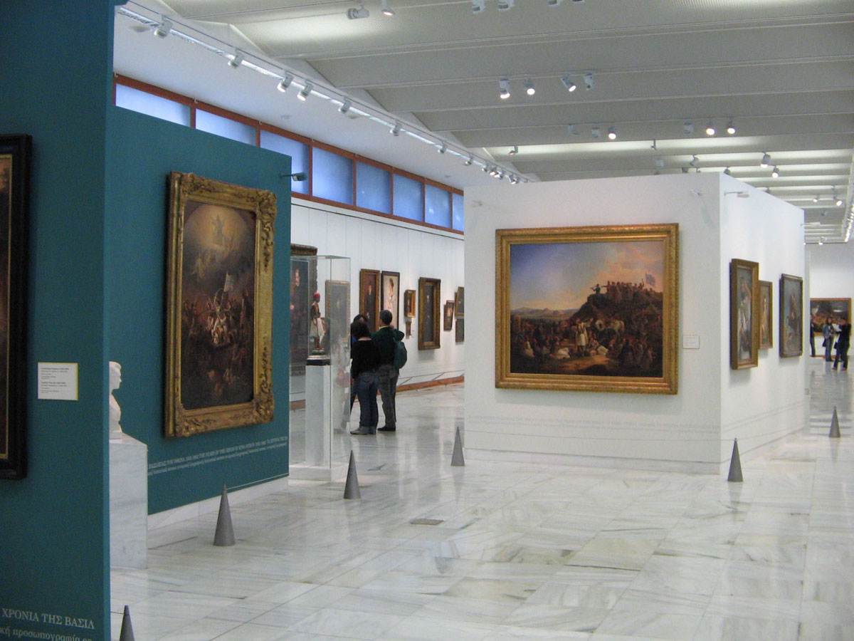Fig. 9. The Greek National Gallery.