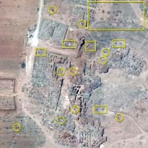Satellite images show widespread damage to historical sites in Syria