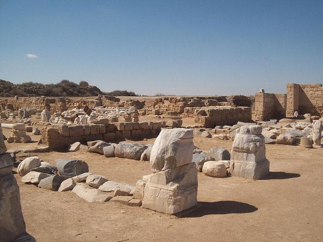 Abu Mena archaeological site. Photo Credit: Unesco.