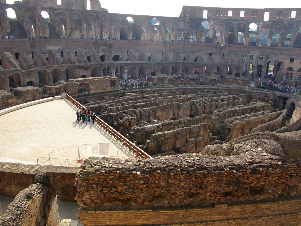 Cavea: The areas of seating reflected the social status of the occupant in Roman society.