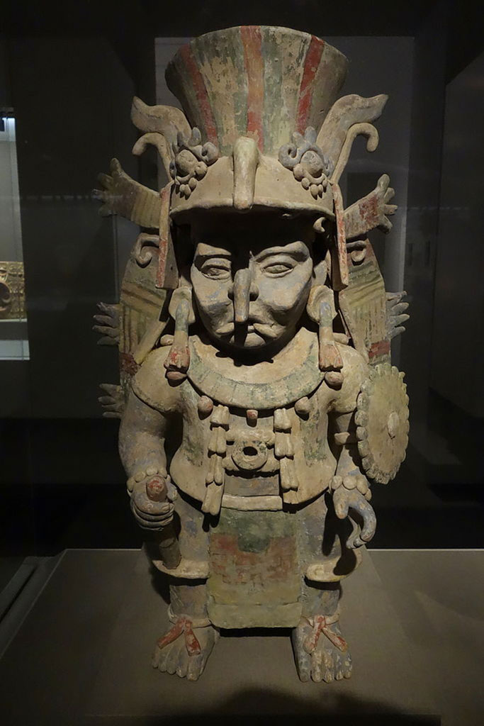 The Maya god of rain, Chaak or Chahk. Photo credit: Wikimedia Commons.