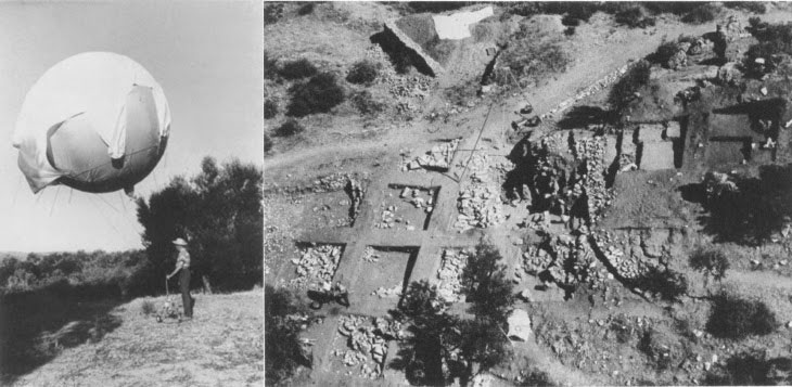 Views of the Nichoria excavations conducted by the University of Minnesota  in the '60s.