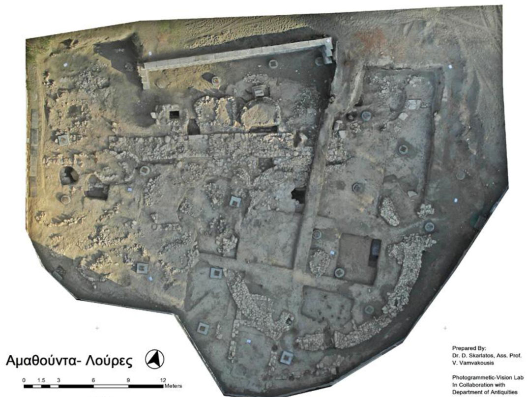 Amathus - Loures. Prepared by Dr D. Skarlatos, Ass. Prof. V. Vamvakousis. Photogrammetric – Visual Lab in collaboration with Department of Antiquities.