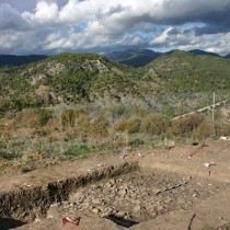 New data about 'stone feature' at Vretsia – Roudias site