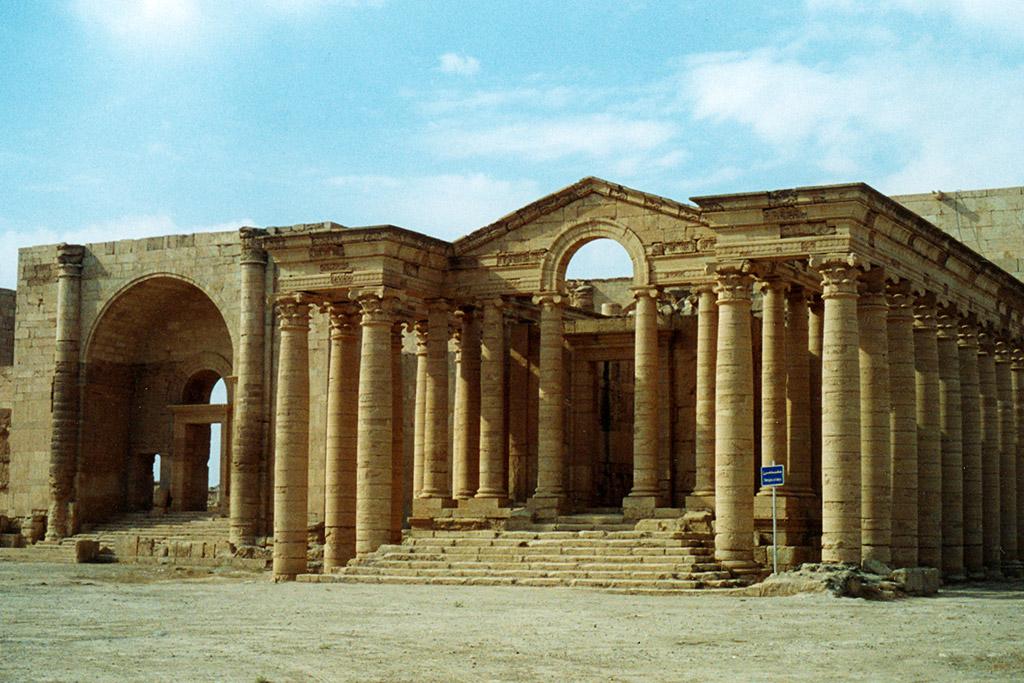 The UNESCO World Heritage site of Hatra in Iraq. Photo: UNESCO/Véronique Dauge.