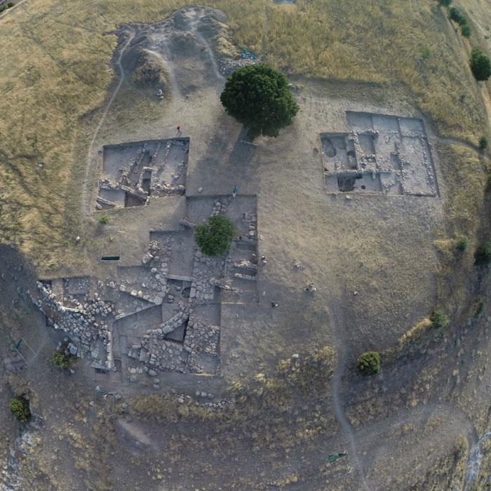 Ancient Eleon site at Boeotia.