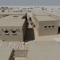 Polish student reconstructed houses of the first Egyptians