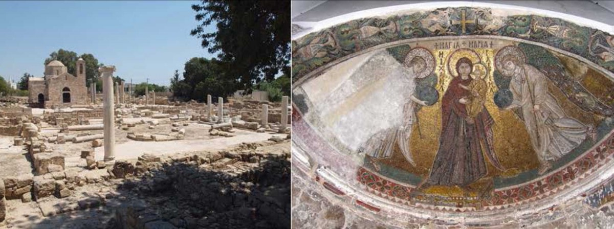 """Dr. Fryni Hadjichristofi will give a lecture about Early Christian Cyprus, in the framework of the seminar series """"Cyprus Seminar: Recent developments in the archaeology of the Eastern Mediterranean"""" organized by the Museum of Cycladic Art."""