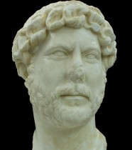 Marble bust of Hadrian unearthed