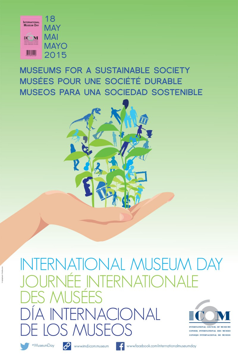 The poster of the International Museum Day 2015.