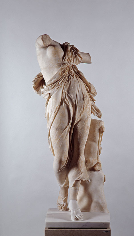 Dancer, after the so-called Berlin Dancer, 2nd century AD, marble, Rome, Italy, Antikensammlung, Staatliche Museen zu Berlin (Inv. Sk 208).