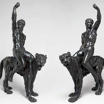 Bronze statues attributed to Michelangelo